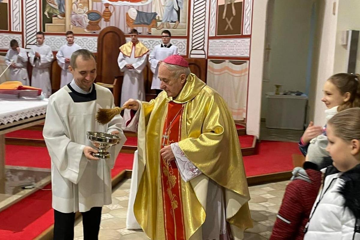 «Мы как солдаты». Епископ Казимир Великоселец попрощался с Гомелем, чтобы отправиться служить в Минск