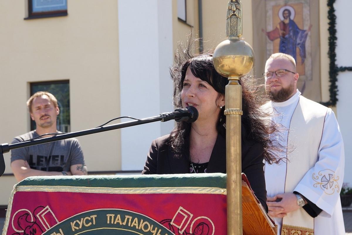 Католики проповедуют Евангелие на улице в Гомеле [фото]