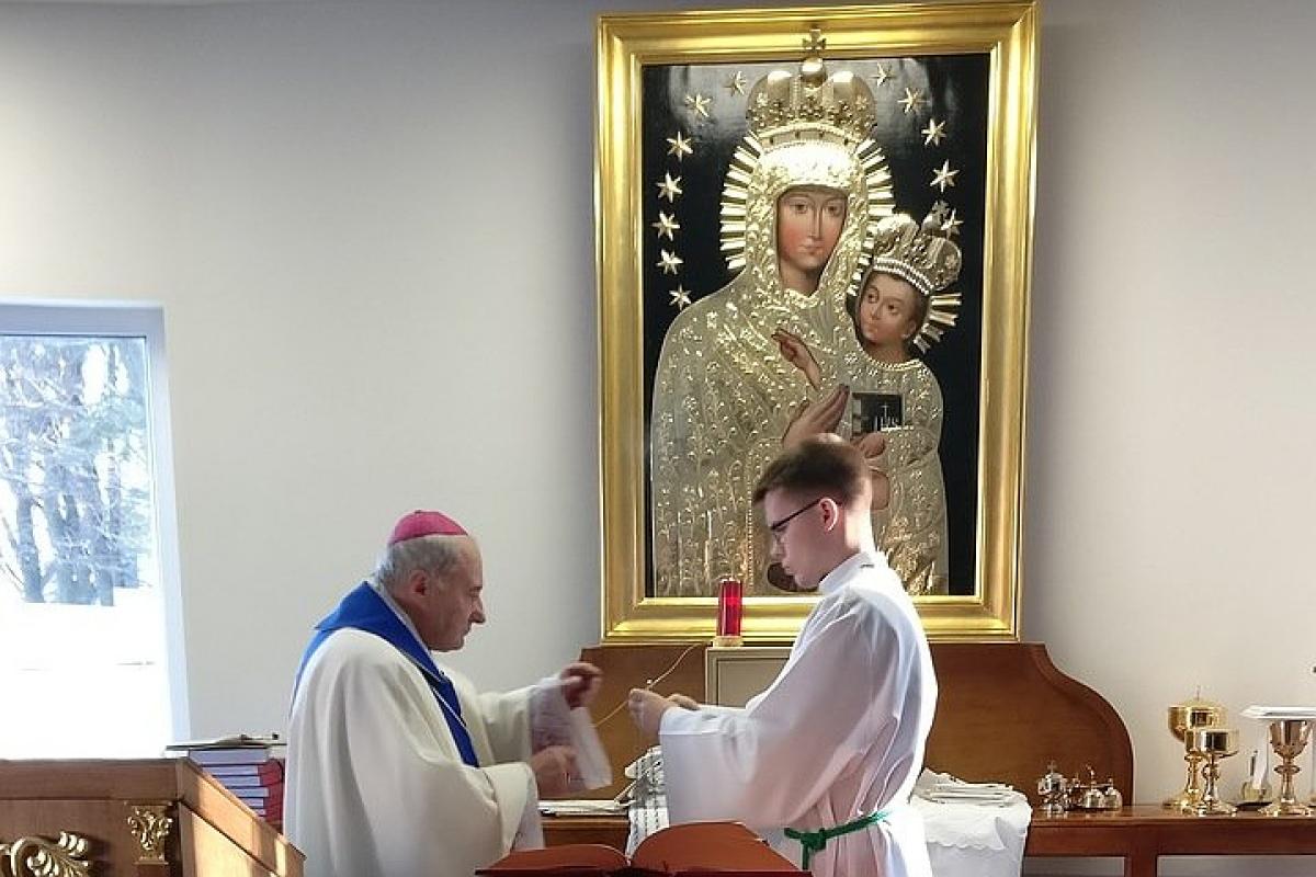 В Гомеле освящена и начала функционировать католическая часовня [ФОТО]
