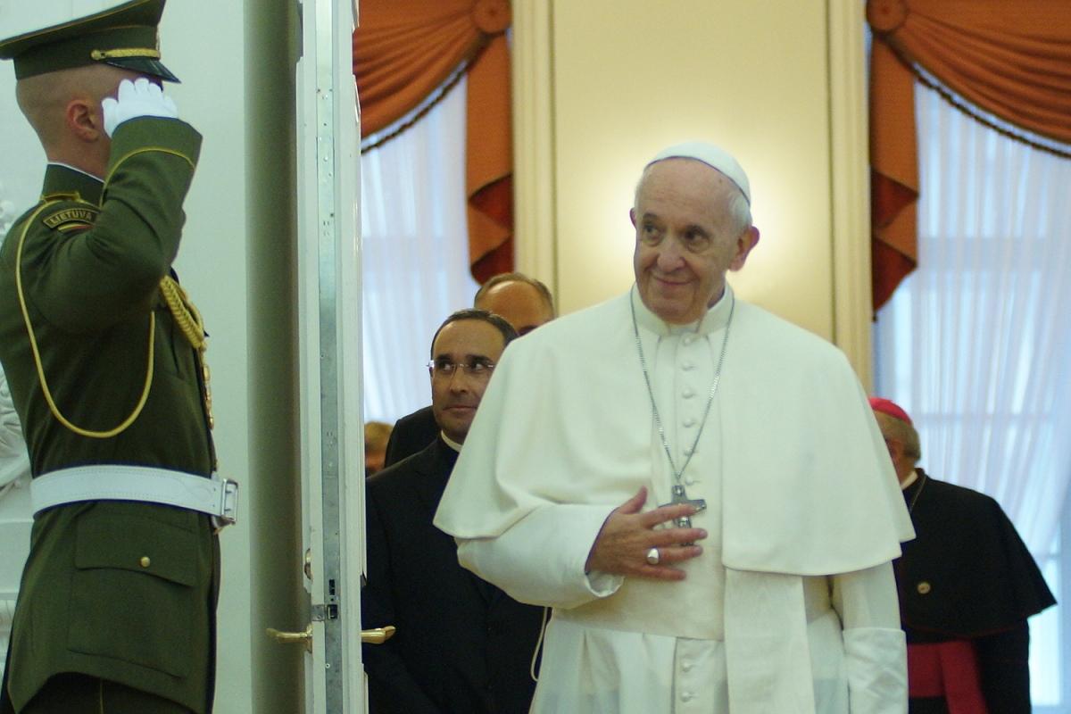 Папа Франциск в Литве - прямая трансляция