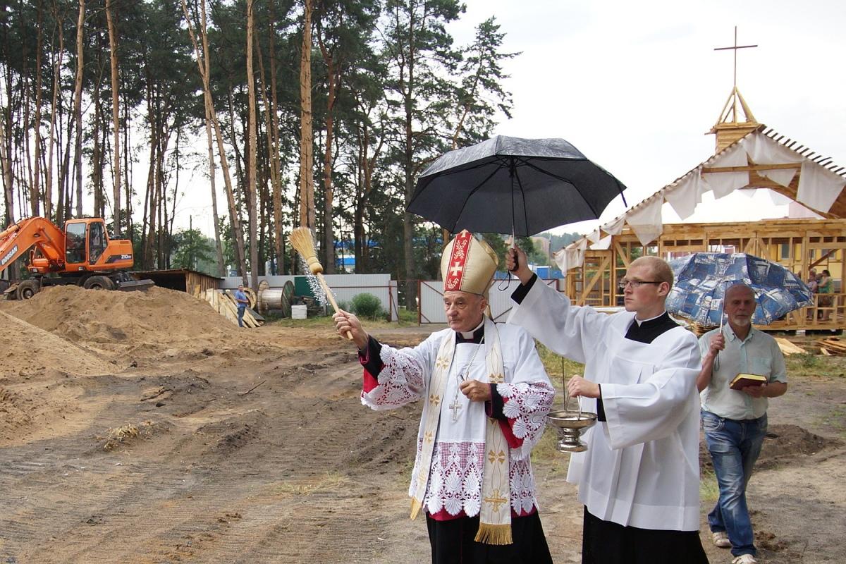 В Гомеле началось строительство нового костела. Каким он будет - фото